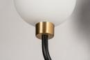 Wandlamp 13940: klassiek, eigentijds klassiek, art deco, glas #6