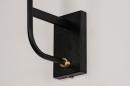 Wandlamp 13941: modern, retro, eigentijds klassiek, art deco #6