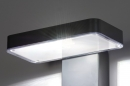 Wandlamp 13949: modern, kunststof, acrylaat kunststofglas, antraciet donkergrijs #5