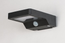 Wandlamp 13951: modern, kunststof, acrylaat kunststofglas, antraciet donkergrijs #4