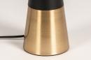 Tafellamp 13955: modern, eigentijds klassiek, stof, metaal #10