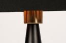 Tafellamp 13955: modern, eigentijds klassiek, stof, metaal #11