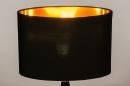 Tafellamp 13955: modern, eigentijds klassiek, stof, metaal #6