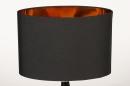Tafellamp 13955: modern, eigentijds klassiek, stof, metaal #7