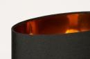 Tafellamp 13955: modern, eigentijds klassiek, stof, metaal #8