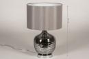 Tafellamp 13956: landelijk, rustiek, modern, eigentijds klassiek #1