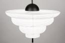 Hanglamp 13977: design, modern, wit, rond #2