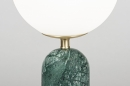 Tafellamp 13986: design, modern, glas, wit opaalglas #3