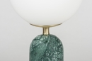 Tafellamp 13986: design, modern, glas, wit opaalglas #4