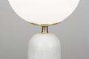 Tafellamp 13988: design, modern, glas, wit opaalglas #3