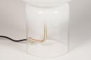 Tafellamp 13998: design, modern, glas, wit opaalglas #5