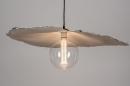 Hanglamp 14005: design, modern, wit, rond #2
