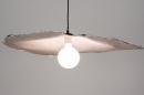 Hanglamp 14005: design, modern, wit, rond #3