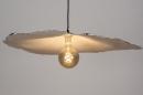 Hanglamp 14005: design, modern, wit, rond #4