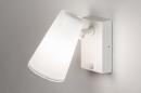 Buitenlamp 14013: modern, staal rvs, kunststof, wit #3