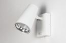Buitenlamp 14013: modern, staal rvs, kunststof, wit #5