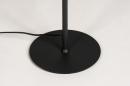 Vloerlamp 14018: modern, eigentijds klassiek, metaal, zwart #10