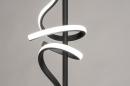 Vloerlamp 14018: modern, eigentijds klassiek, metaal, zwart #6