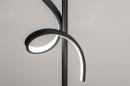 Vloerlamp 14018: modern, eigentijds klassiek, metaal, zwart #7