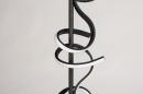 Vloerlamp 14018: modern, eigentijds klassiek, metaal, zwart #9