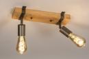 Plafondlamp 14021: industrie, look, modern, stoer #2
