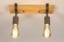 Plafondlamp 14021: industrie, look, modern, stoer #4