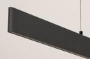 Hanglamp 14024: design, modern, metaal, grijs #10