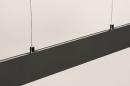 Hanglamp 14024: design, modern, metaal, grijs #12