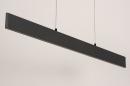 Hanglamp 14024: design, modern, metaal, grijs #8