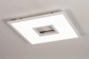 Plafondlamp 14025: modern, kunststof, acrylaat kunststofglas, metaal #1