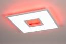 Plafondlamp 14025: modern, kunststof, acrylaat kunststofglas, metaal #12
