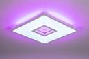 Plafondlamp 14025: modern, kunststof, acrylaat kunststofglas, metaal #4