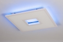 Plafondlamp 14025: modern, kunststof, acrylaat kunststofglas, metaal #6