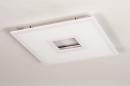Plafondlamp 14025: modern, kunststof, acrylaat kunststofglas, metaal #7