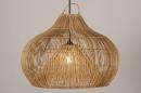 Hanglamp 14043: modern, retro, riet, hout #2