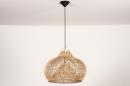 Hanglamp 14043: modern, retro, riet, hout #3