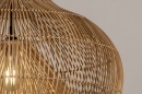 Hanglamp 14043: modern, retro, riet, hout #6
