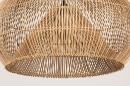 Hanglamp 14043: modern, retro, riet, hout #7