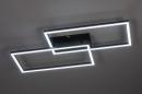 Plafondlamp 14072: design, modern, kunststof, metaal #1