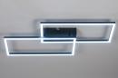 Plafondlamp 14072: design, modern, kunststof, metaal #5