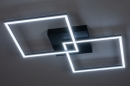 Plafondlamp 14073: design, modern, kunststof, metaal #1