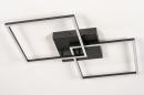 Plafondlamp 14073: design, modern, kunststof, metaal #3