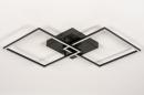 Plafondlamp 14073: design, modern, kunststof, metaal #4