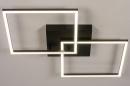 Plafondlamp 14073: design, modern, kunststof, metaal #5
