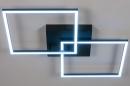 Plafondlamp 14073: design, modern, kunststof, metaal #6