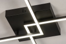 Plafondlamp 14073: design, modern, kunststof, metaal #7