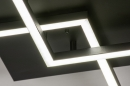 Plafondlamp 14073: design, modern, kunststof, metaal #9