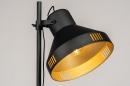 Vloerlamp 14087: landelijk, rustiek, modern, stoer #5