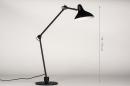 Tafellamp 14093: industrie, look, modern, stoer #1