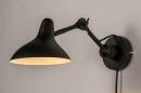 Wandlamp 14094: industrie, look, modern, stoer #3